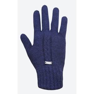 Pletené Merino rukavice Kama R103 108 tmavě modrá, Kama
