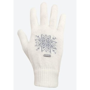 Pletené Merino rukavice Kama R104 101 přírodně bílá, Kama