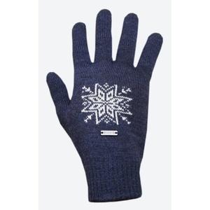 Pletené Merino rukavice Kama R104 108 tmavě modrá, Kama