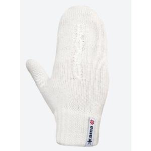 Pletené Merino rukavice Kama R105 101 přírodně bílá, Kama
