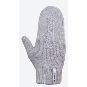 Pletené Merino rukavice Kama R105 109 světle šedá, Kama