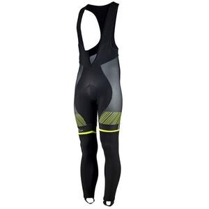 Exclusivní cyklistické kalhoty Rogelli Ritmo 002.260. černo-reflexní žluté, Rogelli