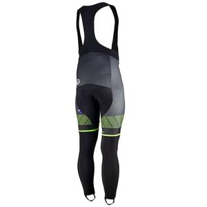 Exclusivní cyklistické kalhoty Rogelli Ritmo 002.261. černo-zelené, Rogelli