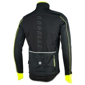 Pánská softshellová bunda Rogelli RENON 3.0., 003.037. černo-reflexí žlutá, Rogelli