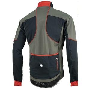 Pánská softshellová bunda Rogelli TRANI 4.0, 003.122. černo-červená, Rogelli
