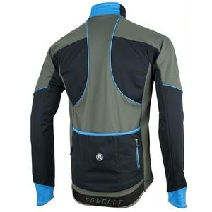Pánská softshellová bunda Rogelli TRANI 4.0, 003.124. černo-modrá, Rogelli