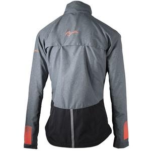 Dámská běžecká bunda Rogelli Dynamic, 840.881. černo-šedo-růžová, Rogelli