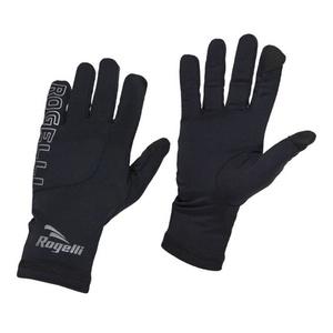 Pánské běžecké zimní rukavice Rogelli Touch, 890.001. černé, Rogelli