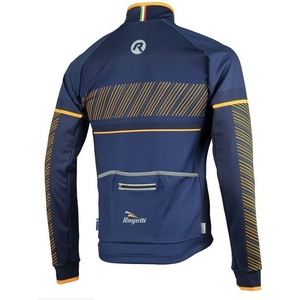 Pánská softshellová bunda Rogelli Ritmo, 003.257. modro-oranžová, Rogelli
