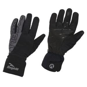 Pánské softshellové rukavice Rogelli Flash, 006.120. černé, Rogelli