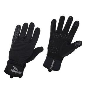 Pánské cyklistické rukavice Rogelli Storm, 006.124. černé, Rogelli