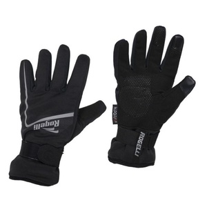 Pánské cyklistické rukavice Rogelli Shield, 006.128. černé, Rogelli