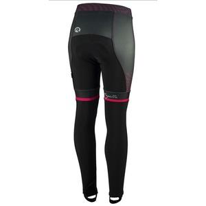 Dámské cyklistické kalhoty Rogelli Bella, 010.253. černo-růžové, Rogelli