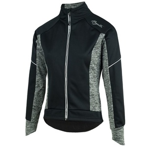 Dámská cyklistická bunda Rogelli Carlyn 2.0, 010.307. černo-šedo, Rogelli