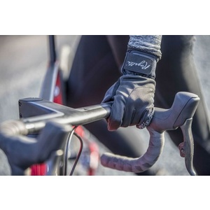 Dámské cyklistické rukavice Rogelli Storm, 010.655. černé, Rogelli
