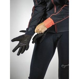 Dámské cyklistické rukavice Rogelli Flash, 010.660. černé, Rogelli