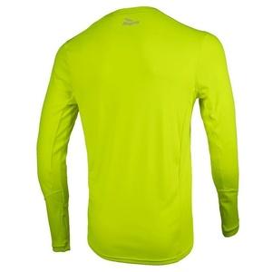 Sportovní funkční triko Rogelli BASIC s dlouhým rukávem, 800.260. reflexní žlutá, Rogelli