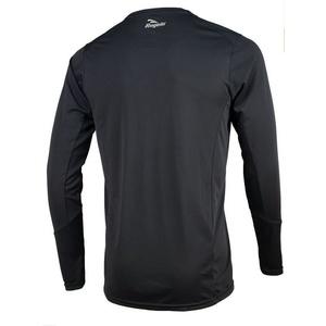 Sportovní funkční triko Rogelli BASIC s dlouhým rukávem, 800.261. černé, Rogelli