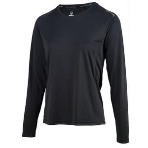 Dámské sportovní funkční triko Rogelli BASIC s dlouhým rukávem, 801.254. černé, Rogelli