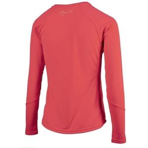 Dámské sportovní funkční triko Rogelli BASIC s dlouhým rukávem, 801.255. růžové, Rogelli