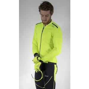 Softshellová bunda Rogelli PESARO 2.0, 003.046. reflexní žlutá, Rogelli