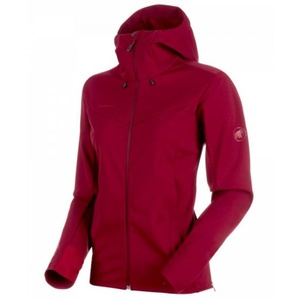 Dámská bunda Mammut Ultimate V SO Hooded, 3496 beet-beet melange, Mammut