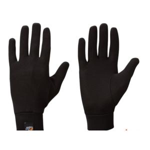 Rukavice Lowe Alpine Silkwarm Glove black/BL, Lowe alpine
