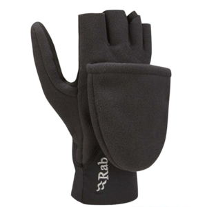 Rukavice Rab Windbloc Convertible Mitt black/BL, Rab