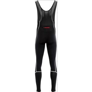Pánské elastické zimní kalhoty Silvini RUBENZA MP1317 black red, Silvini