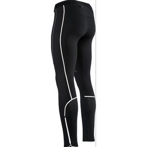 Pánské elastické zateplené kalhoty Silvini RUBENZA MP1313 black, Silvini