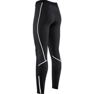 Dámské elastické zateplené kalhoty s cyklovložkou Silvini RUBENZA WP1315 black, Silvini