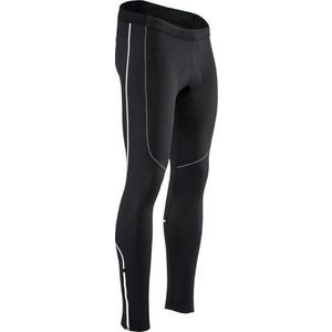 Pánské elastické zateplené kalhoty Silvini RUBENZA MP1319 black, Silvini