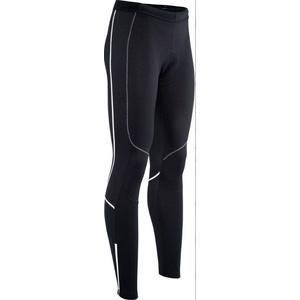 Pánské elastické zateplené kalhoty Silvini RUBENZA MP1319 black white, Silvini