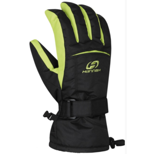 Rukavice HANNAH Brion anthracite/lime punch, Hannah