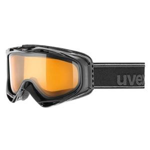 Lyžařské brýle UVEX G.GL 300, black double lens/lasergold lite (2029), Uvex