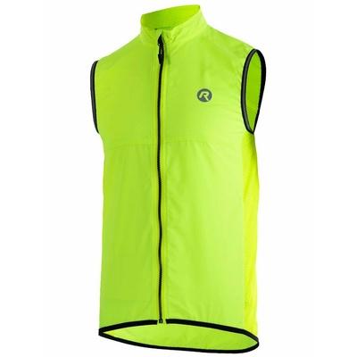 Cyklistická vesta Rogelli MOVE s prodyšnými zády, reflexní žlutá 004.202, Rogelli
