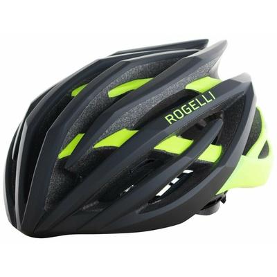 Ultralehká cyklo helma Rogelli TECTA, černo-reflexní žlutá 009.812, Rogelli