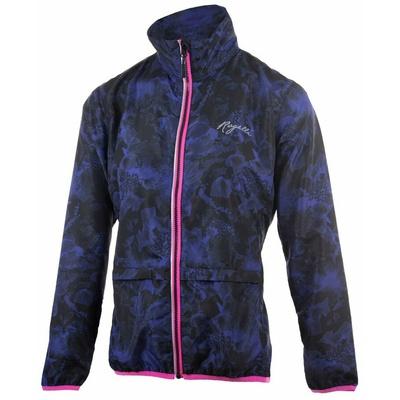 Dámská běžecká větrovka Rogelli COSMIC, černo-modro-růžová 840.866, Rogelli
