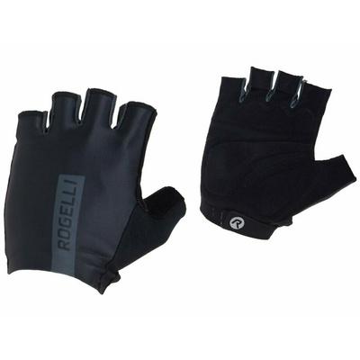 Cyklistické rukavice Rogelli PACE, černé 006.380, Rogelli