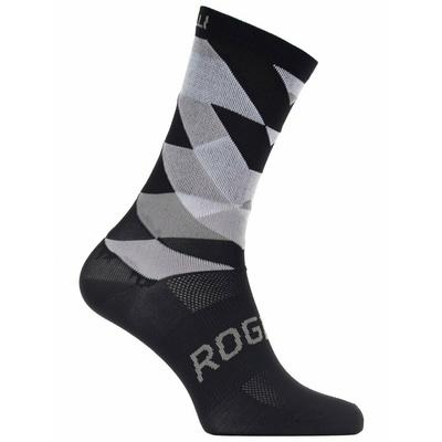 Designové funkční ponožky Rogelli SCALE 14, černo-bílé 007.151, Rogelli