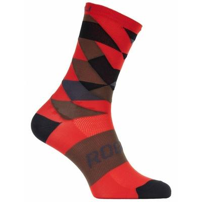 Designové funkční ponožky Rogelli SCALE 14, červené 007.153, Rogelli