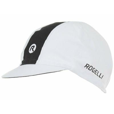 Cyklistická kšiltovka pod helmu Rogelli RETRO, bílo-černá 009.970