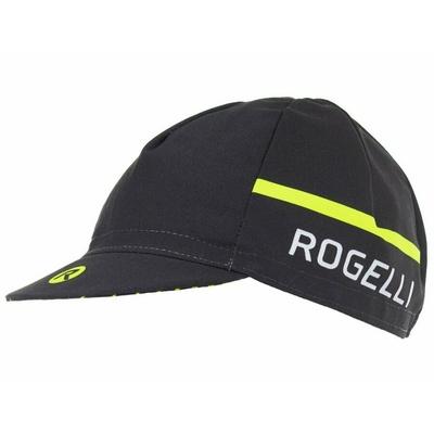 Cyklistická kšiltovka pod helmu Rogelli HERO, černo-reflexně žlutá 009.971