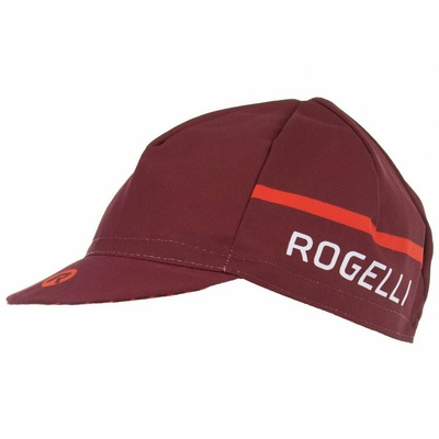Cyklistická kšiltovka pod helmu Rogelli HERO, vínovo-červená 009.973