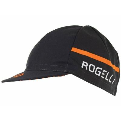 Cyklistická kšiltovka pod helmu Rogelli HERO, černo-oranžová 009.974