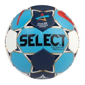 Házenkářský míč Select HB Ultimate Replica Champions League Men bílo modrá, Select