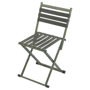 Židle kempingová skládací s opěradlem Cattara NATURE