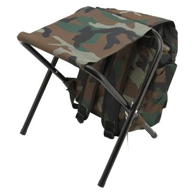 Židle skládací s batohem Cattara OLBIA ARMYR, Cattara