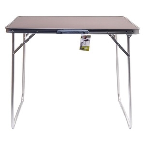 Stůl kempingový skládací Cattara BALATON hnědý, Cattara