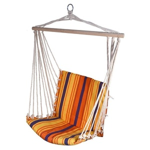 Houpací síť k sezení Cattara Hammock Chair červeno-oranžová, Cattara